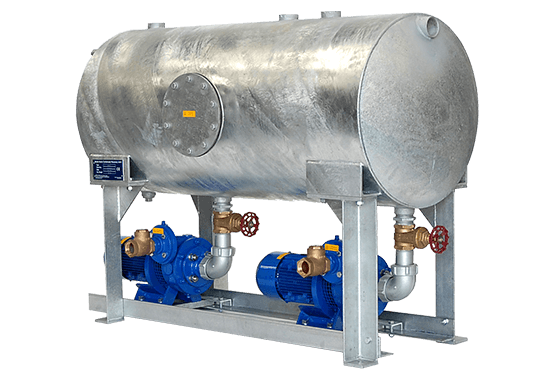 Spiax sarco series 111 condensate recovery unit