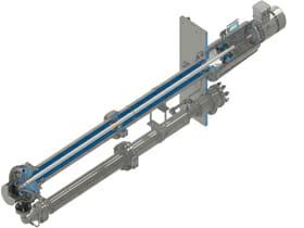 TN280-API-610-VS4-Sulphur-oil-and-gas-vertical-sump-pump-isometric-view-drawing-rectangular-plate-RevA