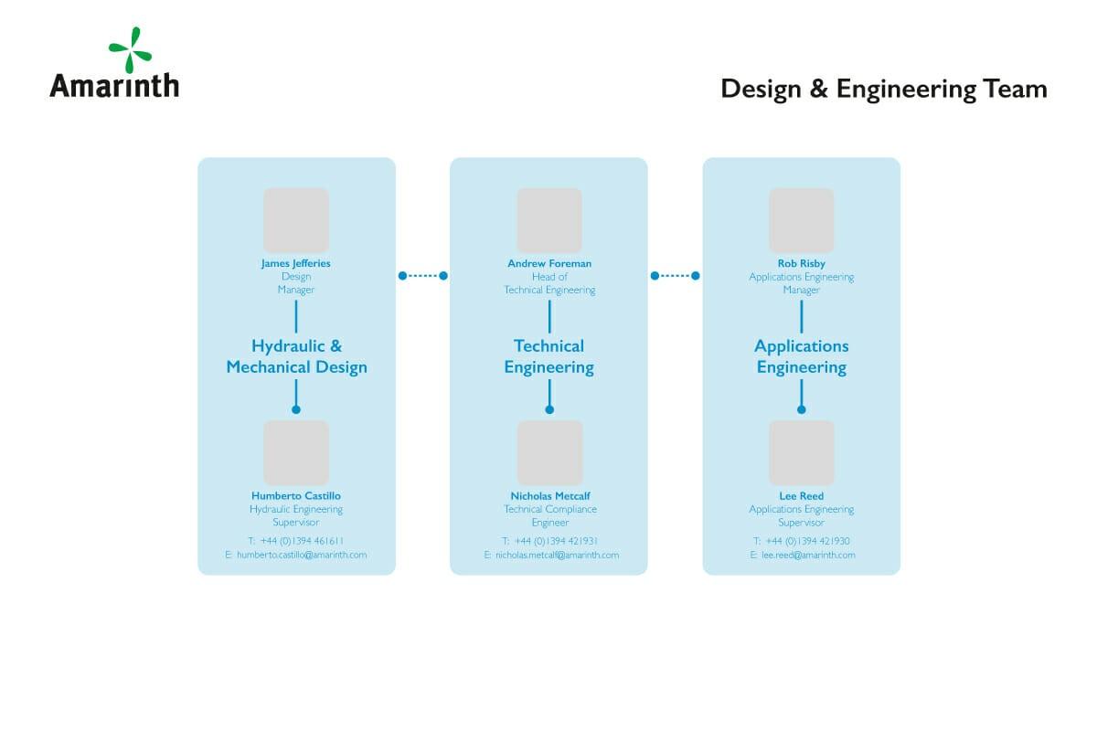 Amarinth Organisation Design & Engineering Structure