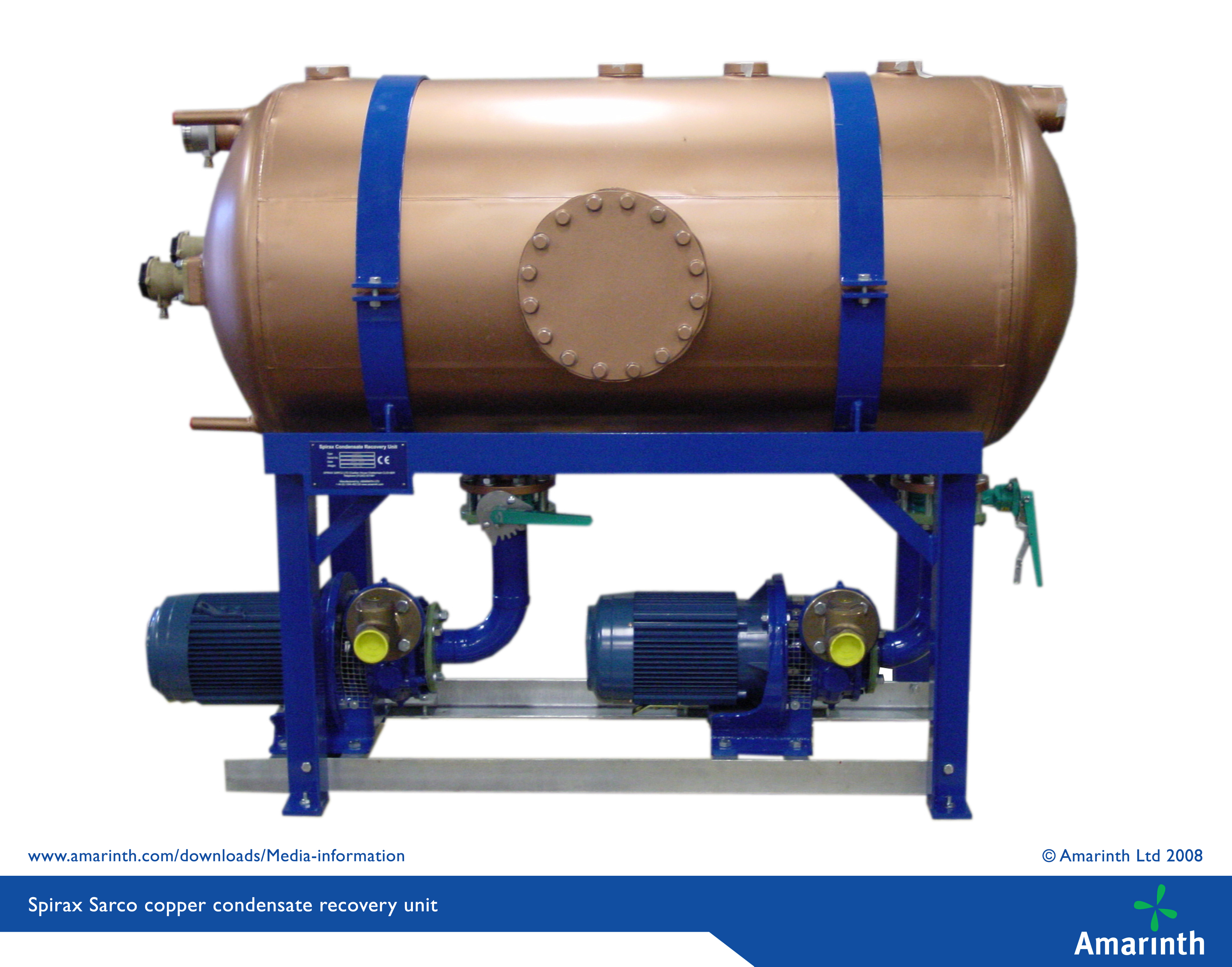 Condensate Recovery Unit Copper Tank Mk Iii Amarinth