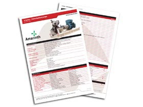 Technical specifications & options - API 610 OH2 A Series pumps